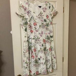 EUC Ann Taylor Spring Dress 14